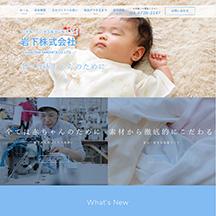 制作事例のHP画像